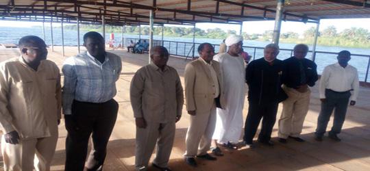 لقاء مدير جامعة السودان المفتوحة ومدير الجامعة